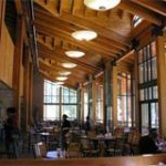 Sierra Nevada University's dining facility at Patterson Hall offers a variety of eating options, including vegan and gluten free options.