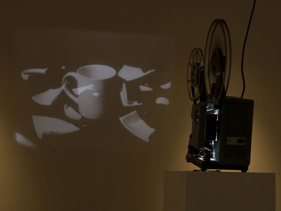 Film installation, artist Glen Cheriton