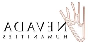 logo for Nevada Humanities, whose grants help support humanities programming at Sierra Nevada University