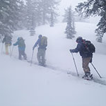 interdisciplinary studies in outdoor adventure leadership students in a backcountry skiing and riding class