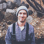 english major ryan donoghue takes a hike during the fall around Lake Tahoe