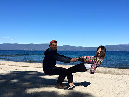 Balancing by the beach, international students juggle classw要么k and recreation time at SNU Tahoe