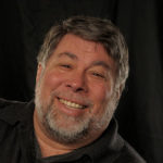 Headshot of Steve Wozniak, Apple Founder.