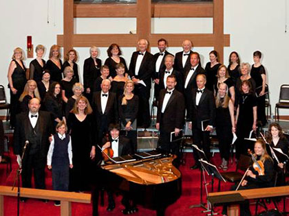 the Sierra Nevada University choir in concert