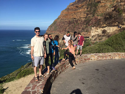 2015 生态 students study the ecology of Cape of Good Hope in Cape Town, South Africa