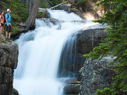 SNU Tahoe students can hike at Shirley Canyon near Squaw Valley