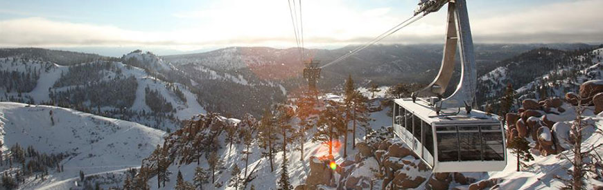 Tram at 斯阔谷, a world class ski resort within driving distance of SNU Tahoe